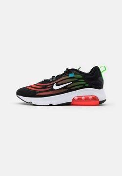 Nike Sportswear - AIR MAX EXOSENSE SE UNISEX - Sneakers - black/white/flash crimson/green strike/blue fury
