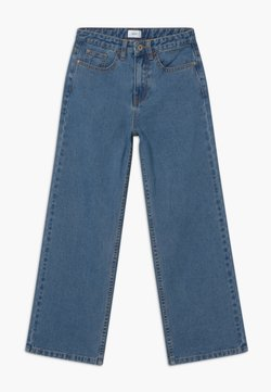 Grunt - WIDE LEG  - Jeans Relaxed Fit - authentic blue