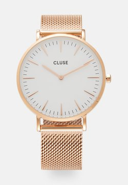 Cluse - BOHO CHIC - Zegarek - rose gold-coloured/white