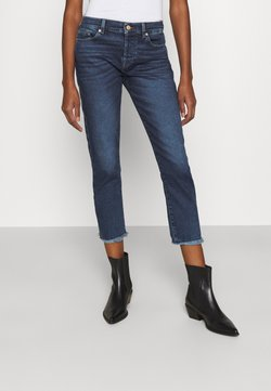 7 for all mankind - ASHER LUXE VINTAGE REJOICE - Slim fit jeans - mid blue