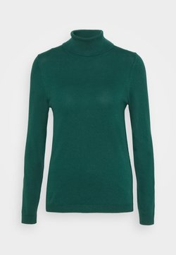 edc by Esprit - TURTLE - Strickpullover - dark teal green