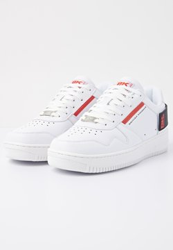 British Knights - SNEAKER JUNE BR - Sneaker low - white/black/red