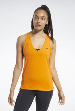 Reebok - ACTIVCHILL Athletic Tank Top - Top - Orange