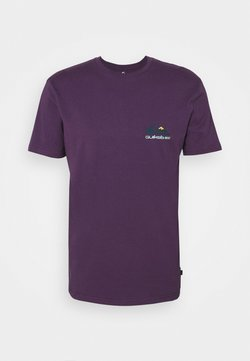 Quiksilver - REFLECT TEE - T-Shirt print - purple plumeria
