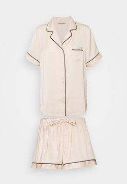 Anna Field - AMANDA SHORT SLEEVE PJ SET  - Pyjama - gold