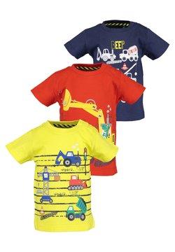 Blue Seven - MINI KN T-SHIRT - 3ER PACK - T-shirt print - yellow