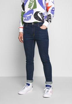 Urban Threads - MID WASHED - Slim fit jeans - blue denim