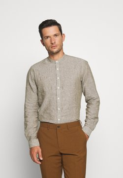 Lindbergh - MANDARIN COLLAR SHIRT  - Shirt - army