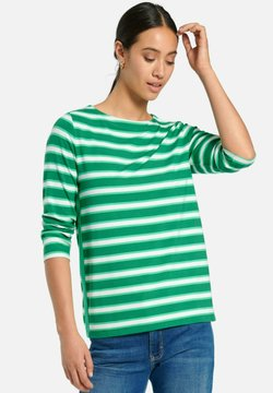 PETER HAHN - Bluse - green/multicolor