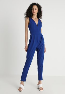 WAL G. - SLEEVELESS PLUNGE  - Jumpsuit - cobalt blue
