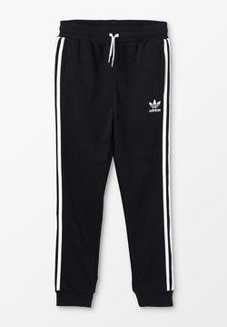 adidas Originals - TREFOIL PANTS - Spodnie treningowe - black/white