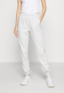 Vero Moda - VMELLA  BASIC - Jogginghose - light grey melange