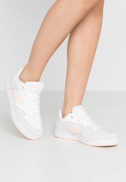 Nike SB - ALLEYOOP - Sneaker low - summit white/washed coral