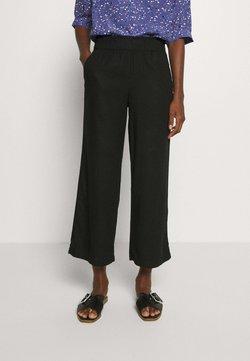 s.Oliver - Pantalones - black