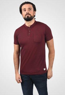 Solid - T-Shirt print - wine red melange