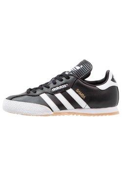 adidas Originals - SAMBA SUPER - Sneaker low - black/running white/footwear white