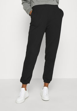 Even&Odd - Loose fit jogger - Jogginghose - black