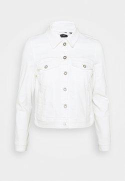 Vero Moda Petite - VMHOTSOYA JACKET  - Chaqueta vaquera - bright white