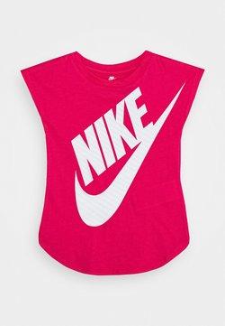 Nike Sportswear - GIRLS JUMBO FUTURA TEE - T-Shirt print - rush pink