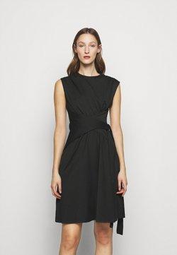 Victoria Victoria Beckham - WRAPPED WAIST DRESS - Cocktail dress / Party dress - black