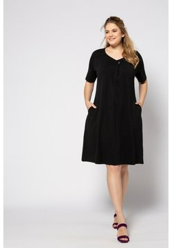Ulla Popken - Jerseykleid - zwart
