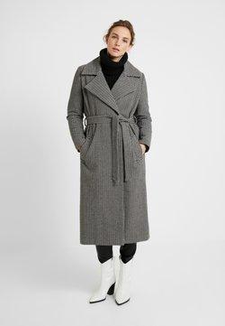 JUST FEMALE - KENZA COAT - Manteau classique - black/white
