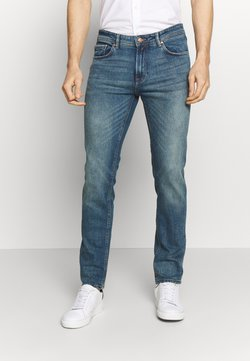 Springfield - SLIM DIRTY - Slim fit jeans - durty blue