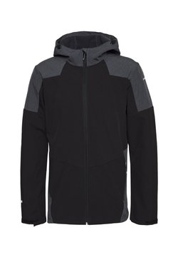 Icepeak - BENDON - Softshelljacka - black