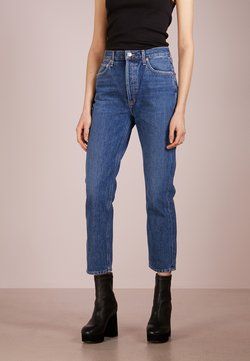 Agolde - RILEY HIGHRISE - Straight leg jeans - air blue