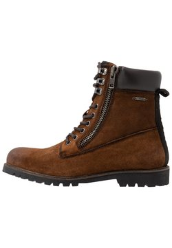 Pepe Jeans - MELTING WOODLAND - Schnürstiefelette - tan