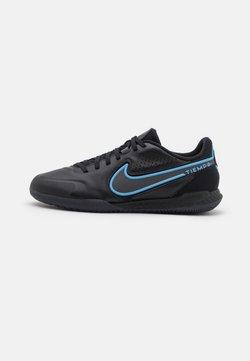 Nike Performance - REACT TIEMPO LEGEND 9 PRO IC - Halówki - black/iron grey