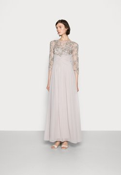 Adrianna Papell - BEADED GOWN WITH SOFT SKIRT - Robe de cocktail - marble