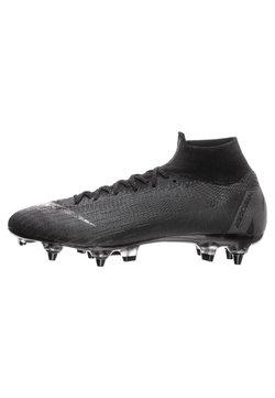 Nike Performance - MERCURIAL SUPERFLY  - Fußballschuh Stollen - black