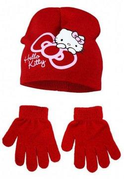 Hello Kitty - SET OF 2 - Mütze - rot