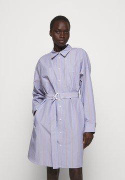3.1 Phillip Lim - STRIPED BUTTON UP SHIRT DRESS - Blusenkleid - blue/multi