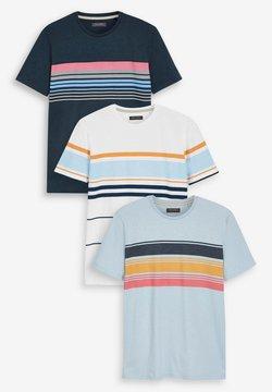 Next - 3 PACK - T-Shirt print - multi-coloured