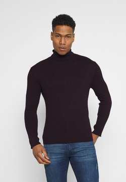 Brave Soul - RALLYF - Strickpullover - ox blood