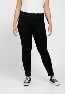 ONLY Carmakoma - CARAUGUSTA  - Jeans Skinny Fit - black