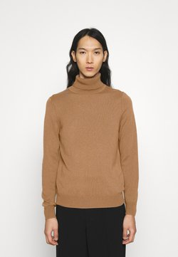 FTC Cashmere - ROLLNECK - Sweter - roasted almond