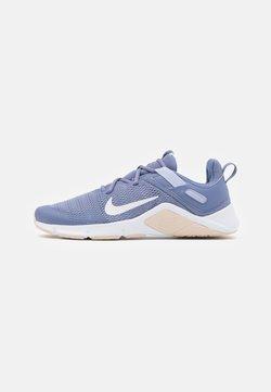 Nike Performance - LEGEND ESSENTIAL - Sports shoes - world indigo/summit white/ghost