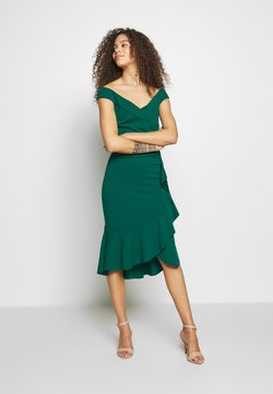 SISTA GLAM PETITE - DESTA - Cocktail dress / Party dress - green
