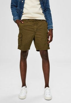 Selected Homme - SLHCLAY  - Shorts - dark olive