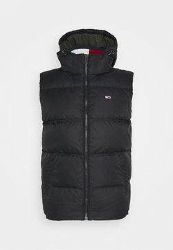 Tommy Jeans - PADDED VEST UNISEX - Weste - black