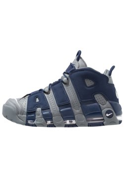 Nike Sportswear - AIR MORE UPTEMPO 96 - Sneakers high - cool grey/white/midnight navy