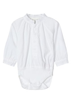 Name it - BODY-HEMD JUNGS - BESTICKTER - Body - bright white