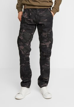 Alpha Industries - Pantalon cargo - black camo
