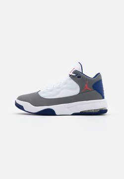 Jordan - MAX AURA 2 - Sneaker high - smoke grey/track red/white/deep royal blue