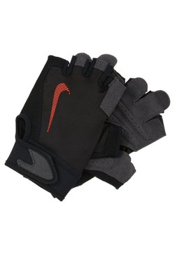 Nike Performance - ULTIMATE FITNESS GLOVES - Fingervantar - black/light crimson