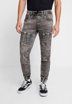 Redefined Rebel - RRROMA BIKER - Jogginghose - light grey