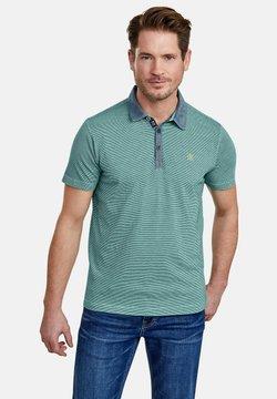 LERROS - MIT FEINEN QUERSTREIFEN - Poloshirt - jade green